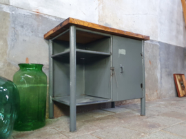 Industriële Kleine Werkbank | Grijs S5