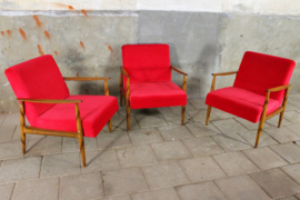 Rode Fauteuil Rood