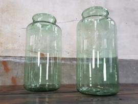 Groene Glazen Pot 55 cm