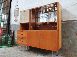 Jaren '60 Design Highboard   Barkast