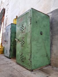 Groene Stalen Lockers   94cm Hoog
