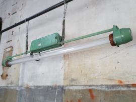 XL Industriële Groene Tube Lamp