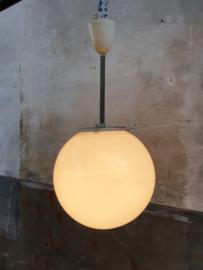 Witte Art Deco Hanglampen | Rond