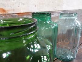 Franse Glazen Pot