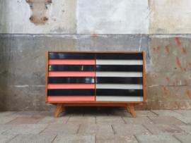 Jiroutek Design Dressoir | Zwart - Wit - Roze