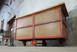 Industriële Stalen Tafel/Kar