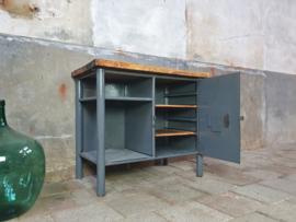 Industriële Kleine Werkbank | Grijs S3
