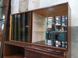 Palissander Bar & Vitrinekast   Design by Jitona