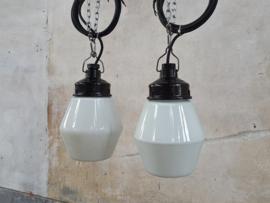Vintage Opaline Look Hanglamp