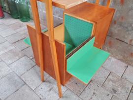 Vintage Roomdivider Barkast by Jirák