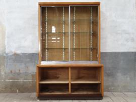 Vintage Winkel Vitrinekast