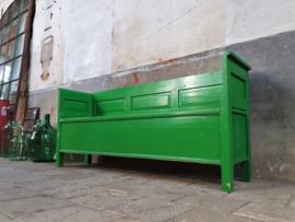 Houten Klepbank | Groen B193cm