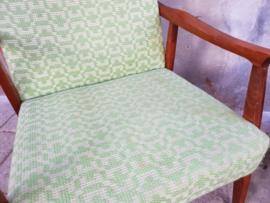 Vintage Groene Fauteuils