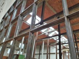 Industriële Stalen Hangspiegel | 181x107