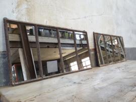 Industriële Hangspiegel Roest   41x82