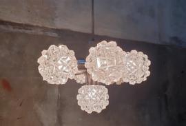 Jaren '60 Spoetnik lamp Kristal