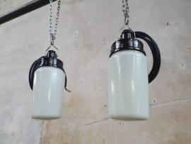 Witte Glazen Lampen II