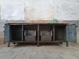 XL Grijze Industriële Werkbank VIII