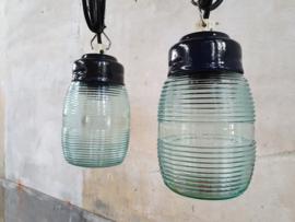 Glazen Hanglamp | Blauwe Kap