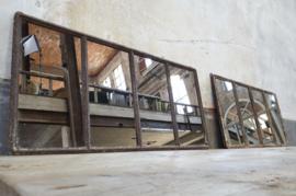 Industriële Hangspiegel Roest | 41x82
