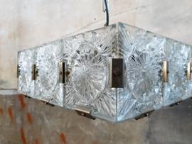 Jaren '60 Hanglamp   Kristal