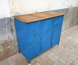 Industrieel Locker Dressoir