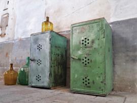 Groene Stalen Lockers | 94cm Hoog