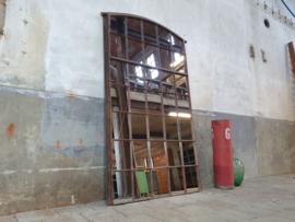 Industriële Stalen Boogspiegel | B220x128