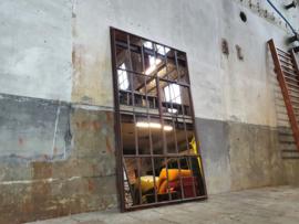 XL Industriële Spiegel | R207x126