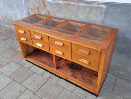 Vintage Ladenkast | Vitrine