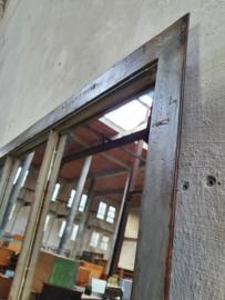 2x Industriële Grijze Spiegel | R217x127