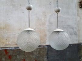 Retro Witte Hanglampen   Ongebruikt