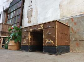 Houten Laag Bureau | Jaren '50