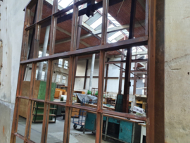 Industriële Stalen Boogspiegel | B201x152