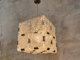 Jaren '60 Hanglamp | Kristal Kubus