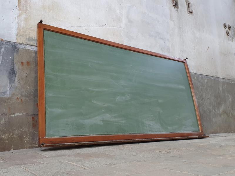 Vintage Belgisch Schoolbord XXL II