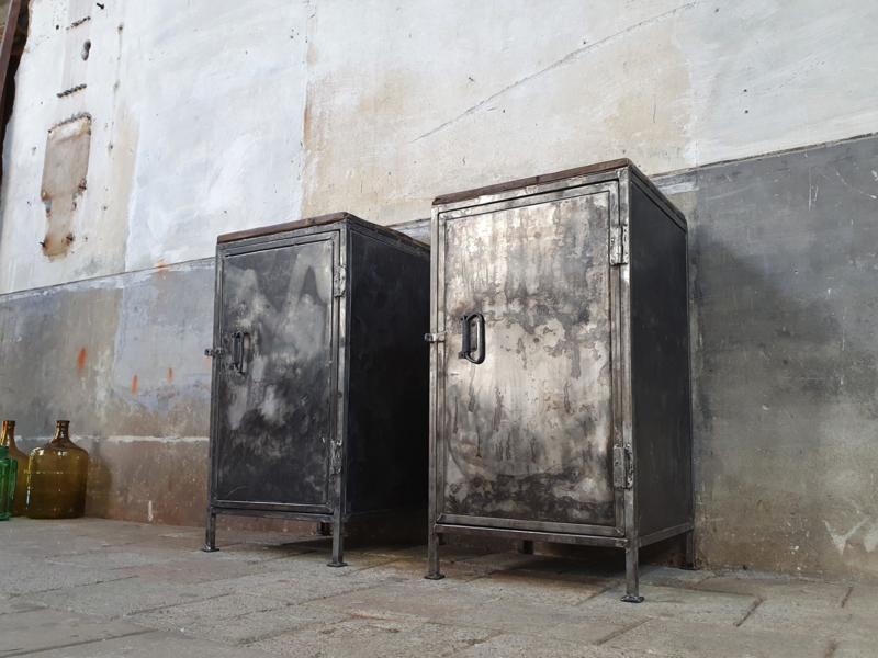 Gestraalde Stalen Lockers | 93cm Hoog