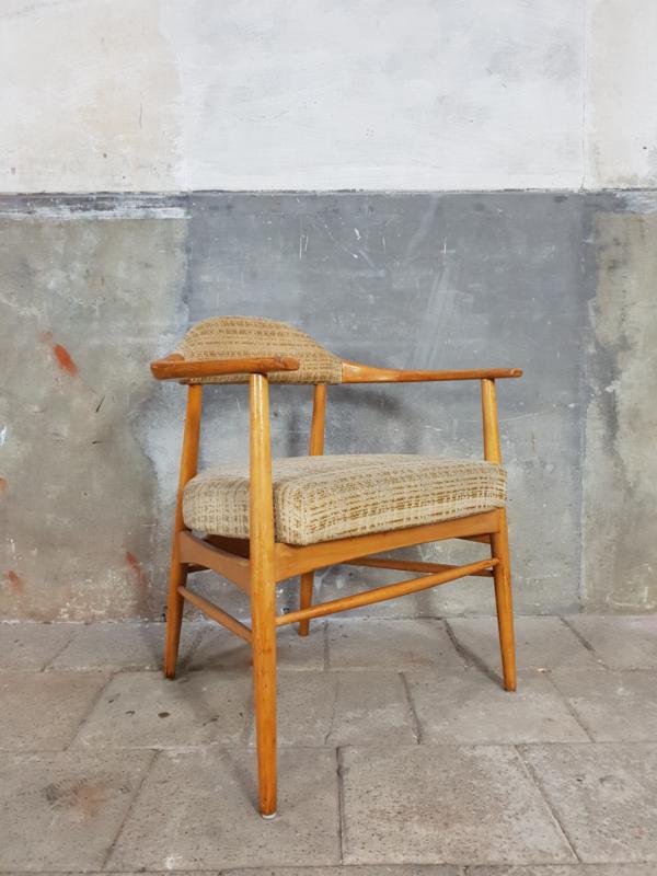 Houten Eetkamerstoelen Vintage.Vintage Houten Stoelen Deens Design Stoelen En Banken