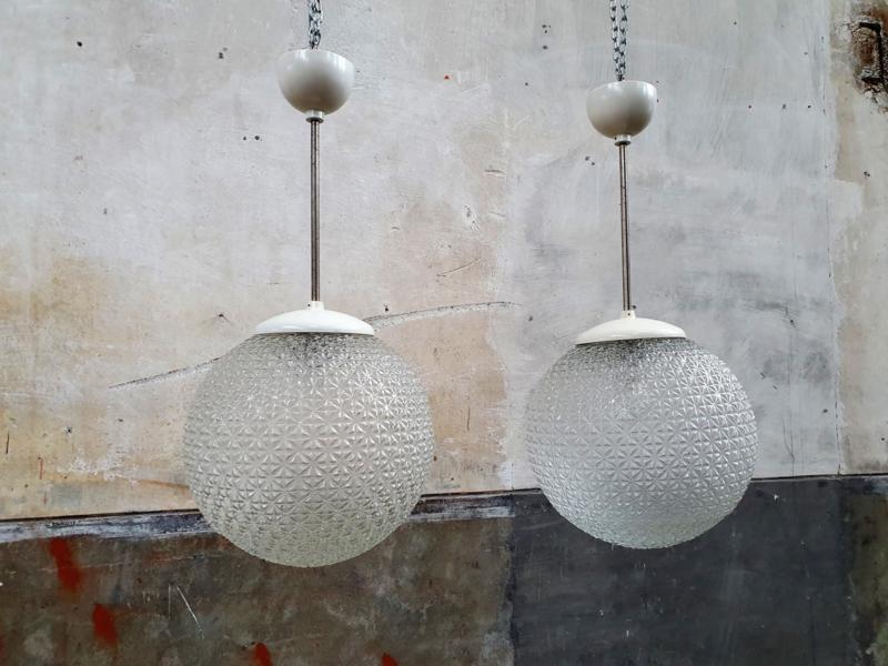 Retro Witte Hanglampen | Ongebruikt