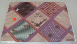 PLACEMAT 40x30cm Plastic 8 stuks