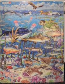 PUZZEL 60 STUKJES maxi Noord Atlantische dieren