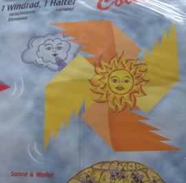 WINDMOLEN Zon en Wolken sonne en wolke