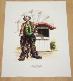 CLOWNEN THE EMMETT KELLY Jr COLLECTION 1 POSTER