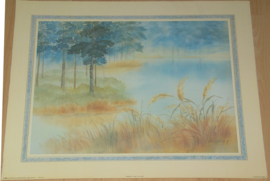 LANDSCHAP TRANQUIL BY KUNG 1 POSTER