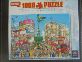PUZZEL PICCADILLY CIRCUS COMIC COLLECTION KING 1000 STUKJES