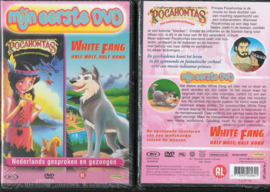 POCAHONTAS & WHITE FANG 191 KINDER DVD 2 SPROOKJES