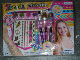 TRENDY MEIDEN JEWELRY & BODY ART 62 DLG SET