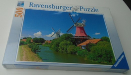 RAVENSBURGER ORIGINAL QUALITY PUZZLE WINDMOLENROMANTIEK 500 stuks