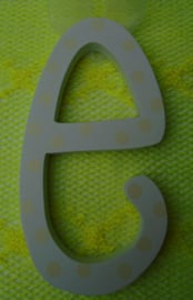 PASEN LETTERS WIT- GEEL