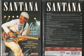 SANTANA LIVE AROUND THE WORLD DVD 9002986613961